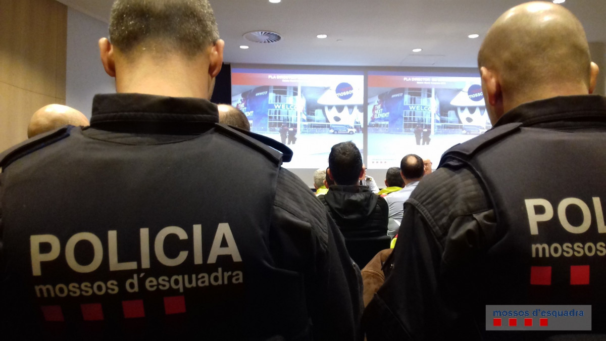 Mossos mobile world congress mwc