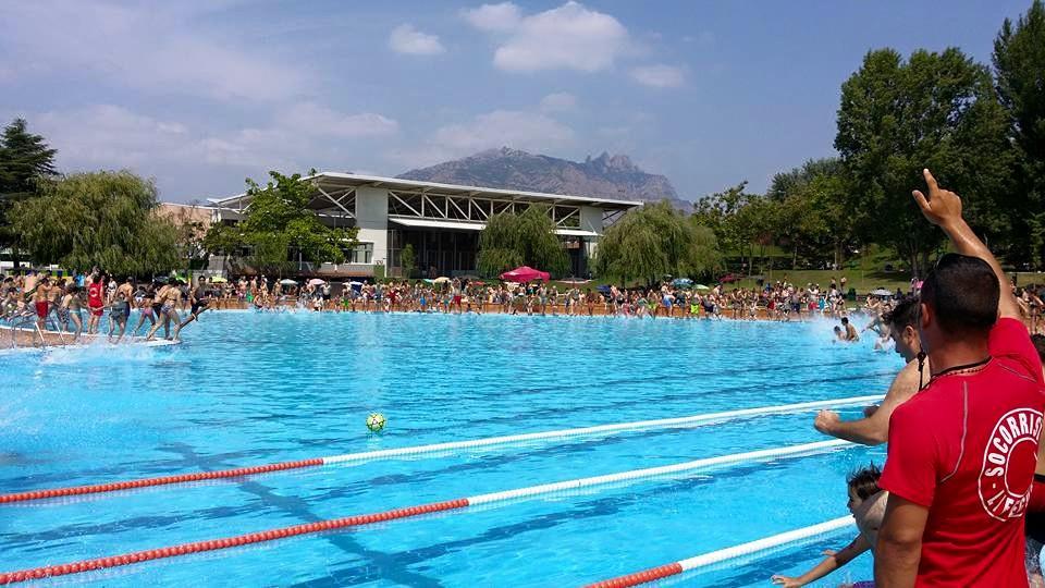 Olesa pierde una piscina con la llegada del buen tiempo - Tiempo olesa de montserrat ...