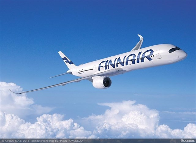 Finnair avion