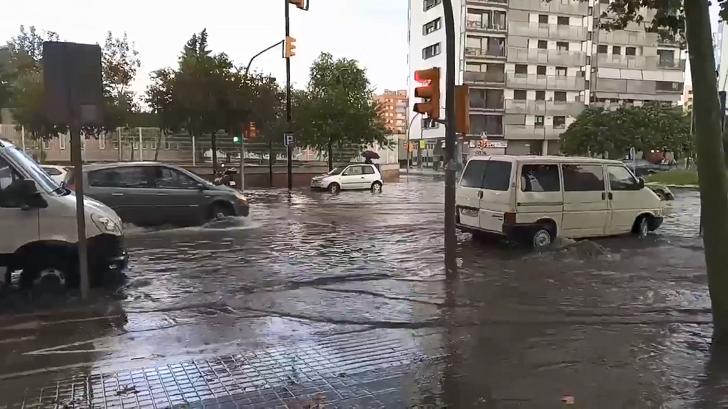 Inundaciones en Hospitalet