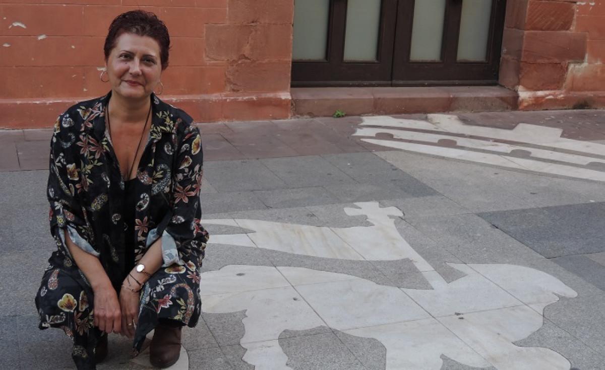 Juana Terru00f3n Candidata a la Secretaria General de Podemos Viladecans