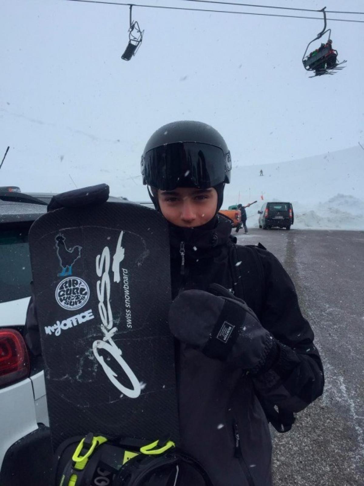 Toni toledo campeon de catalunya de snowboard