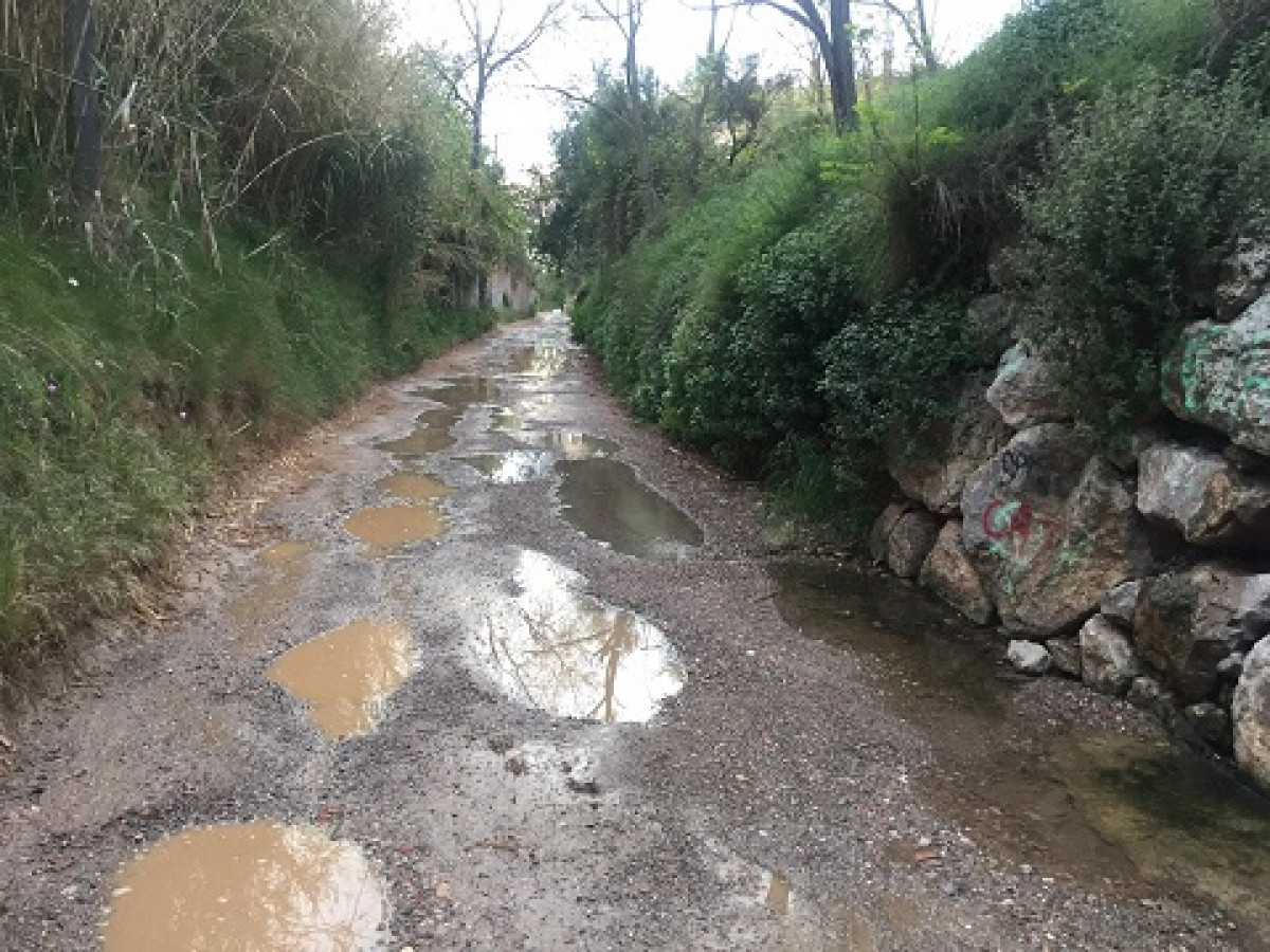 Camino sant ramon agua
