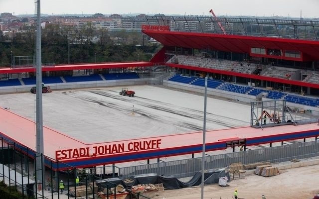 Estadio johan cruyff imagen