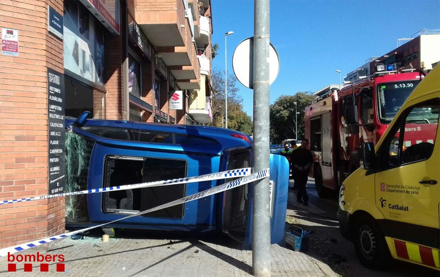 Accidente Viladecans
