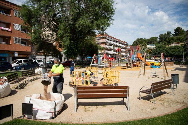 Parque infantil castelldefels