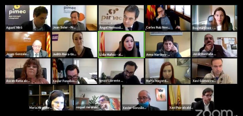 Pimec encuentro alcaldes baix