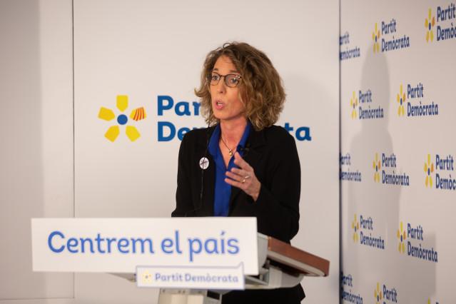 La exconsellera y candidata del PDeCAT a las elecciones catalanas, Àngels Chacón.