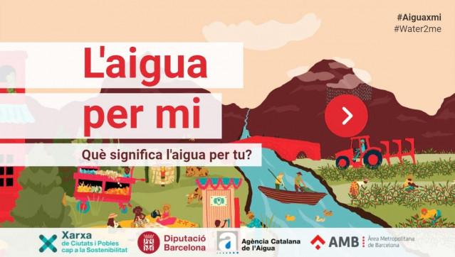 La Diputación de Barcelona y la ACA celebran el Día Mundial del Agua con la campaña #AiguaXmi