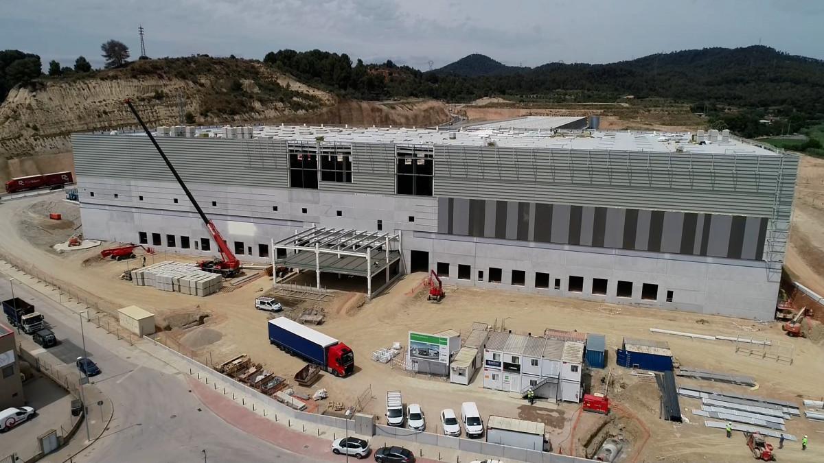 Obras DSV Solutions Spain Molins de Rei 1
