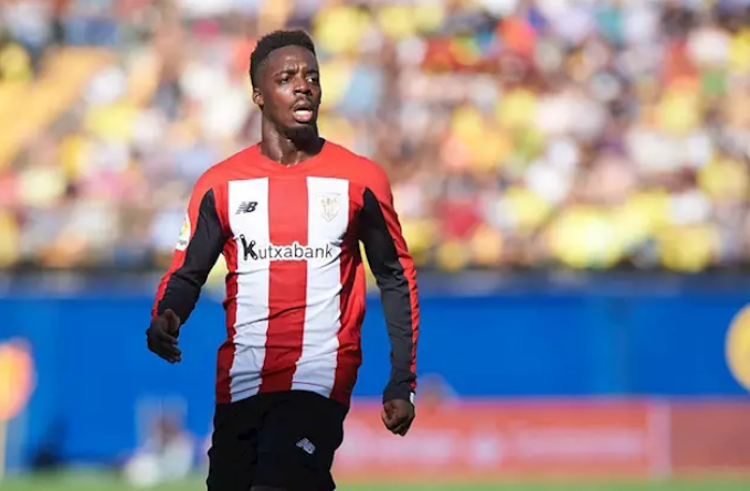 El delantero del Athletic Club Iu00f1aki Williams